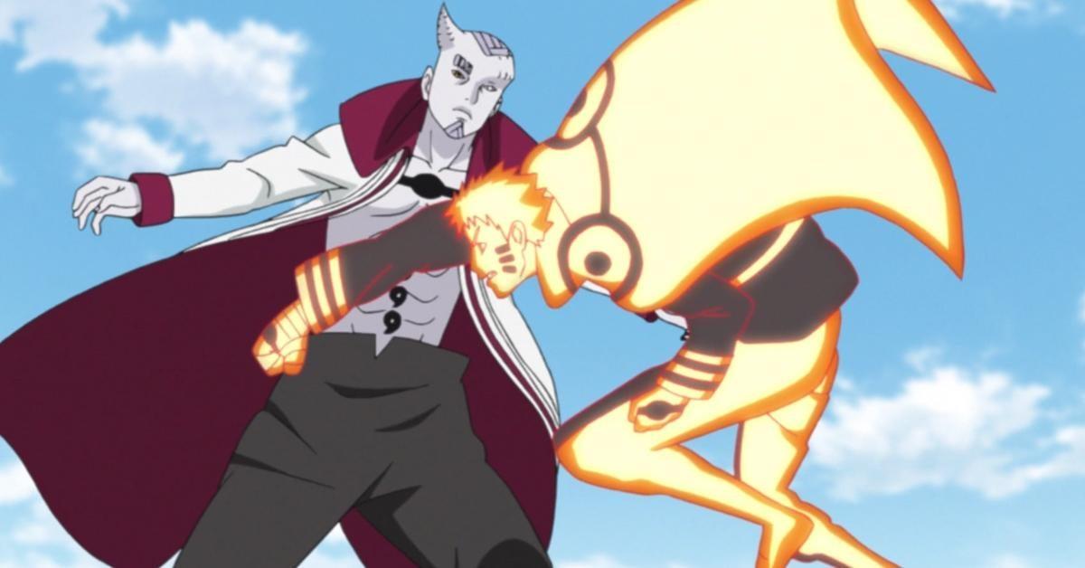 Boruto Kicks Off Naruto and Sasuke's Fight With Isshiki