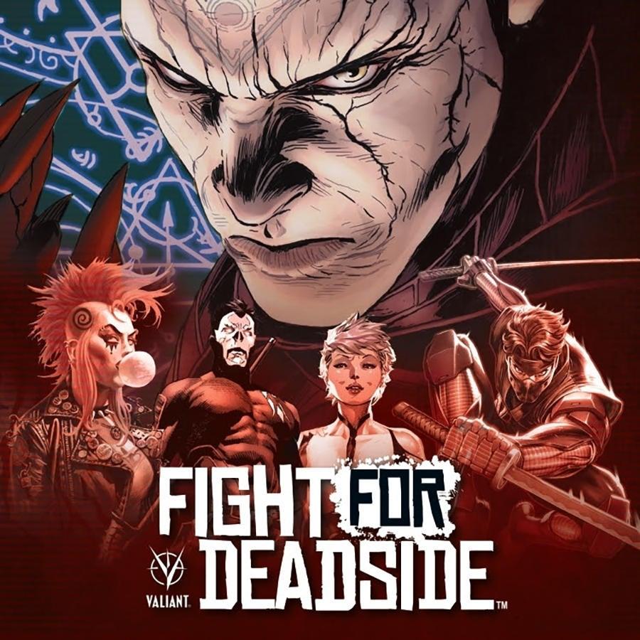 Valiant Reveals First Tabletop Kickstarter, Fight For Deadside