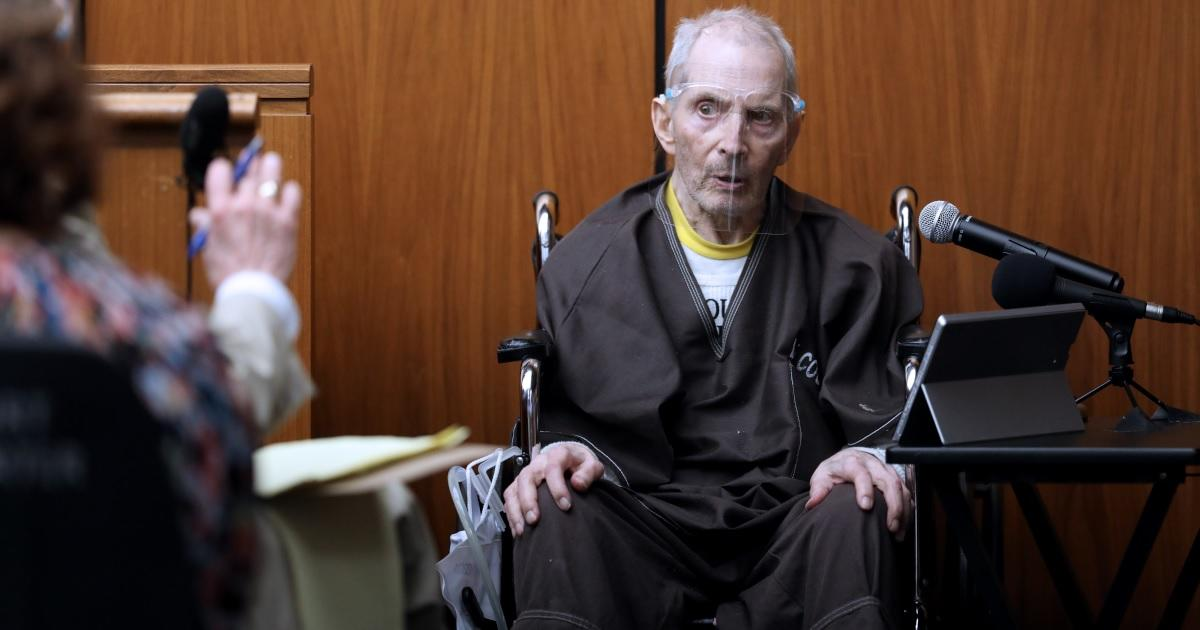 Robert Durst, Subject of HBO's 'The Jinx,' Charged With 1982 Murder of Wife.jpg