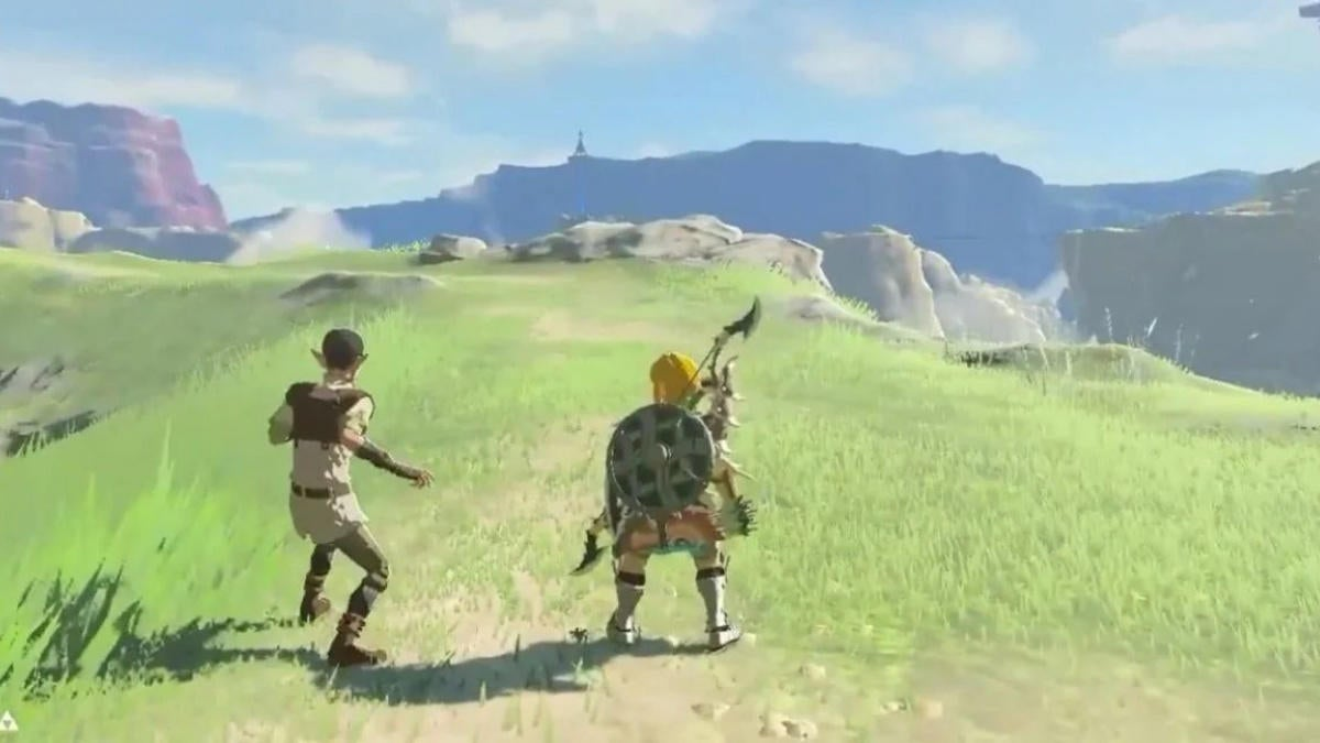 The Legend of Zelda: Breath of the Wild Player Discovers Incredible Foot Race Cheat