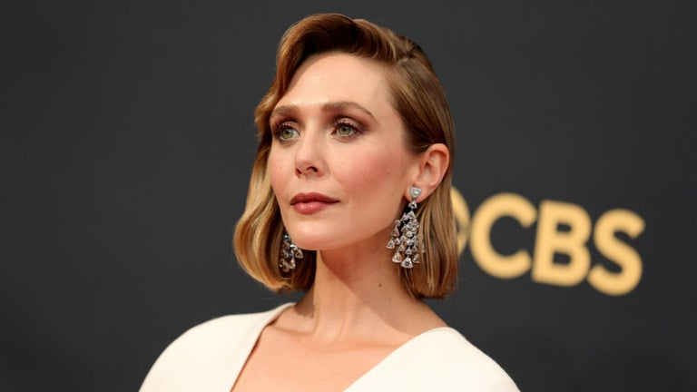 Elizabeth Olsen Showcases Dress Created by Sisters Mary-Kate and Ashley on Emmys 2021 Red Carpet