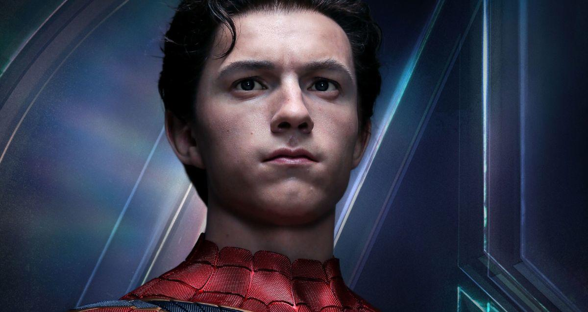 tom-holland-life-size-bust-avengers-infinity-war-spider-man