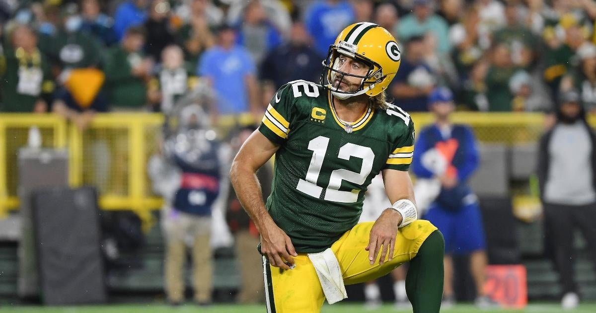 Aaron Rodgers Blasts 'Horses--' Criticism of His Packers Performance Amid Engagement to Shailene Woodley.jpg