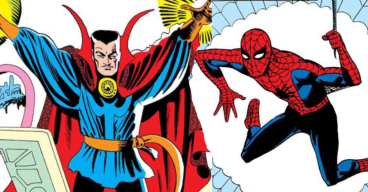 spider-man-doctor-strange-steve-ditko-marvel