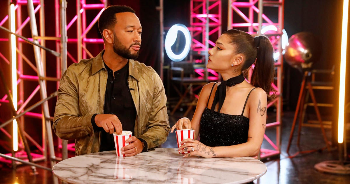 'The Voice': Ariana Grande Perfectly Shades John Legend With 'Thank U, Next' Button.jpg
