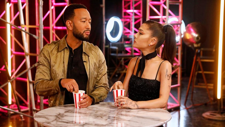 'The Voice': Ariana Grande Perfectly Shades John Legend With 'Thank U, Next' Button