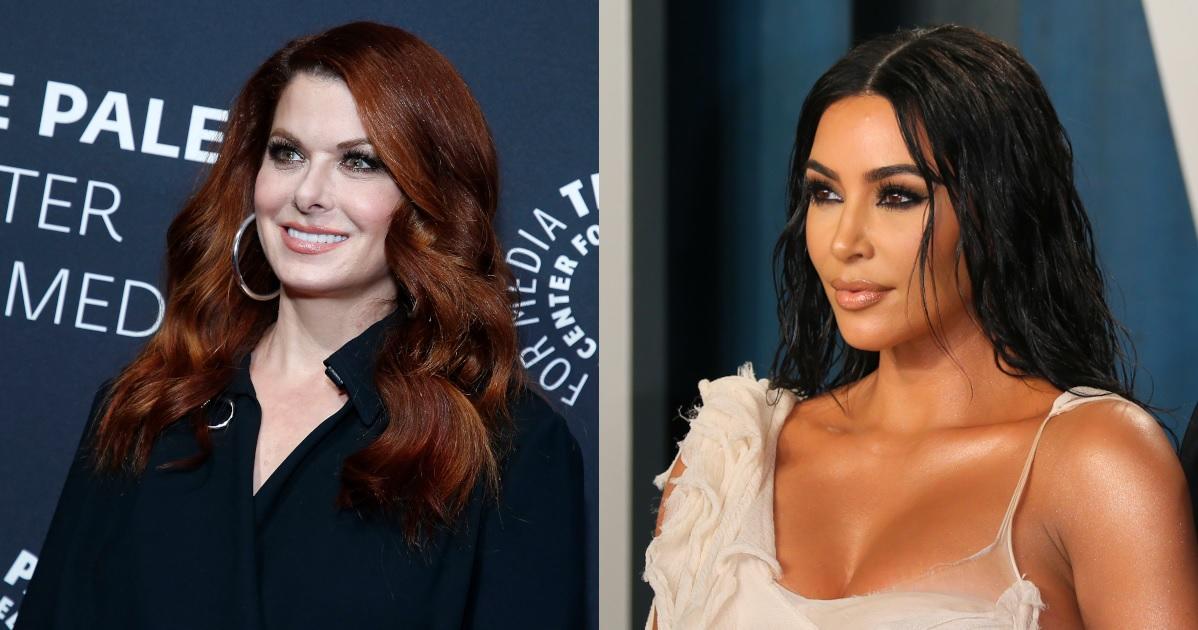 debra-messing-kim-kardashian-getty-images