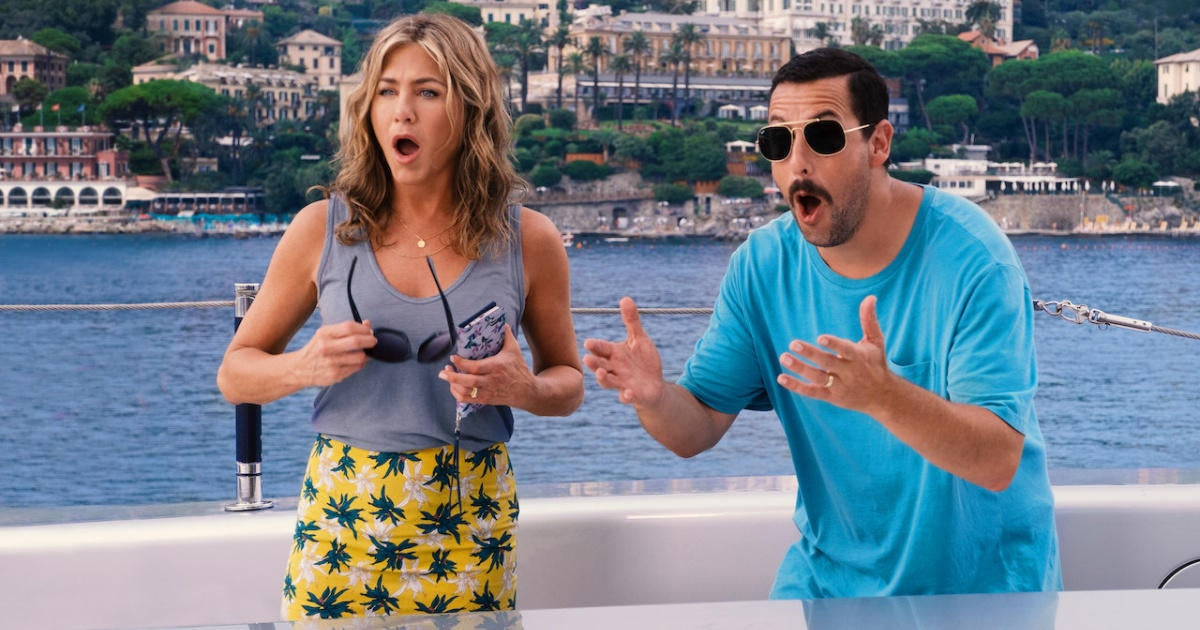 Jennifer Aniston and Adam Sandler Announce Sequel to 'Murder Mystery' With His Frequent Collaborator.jpg
