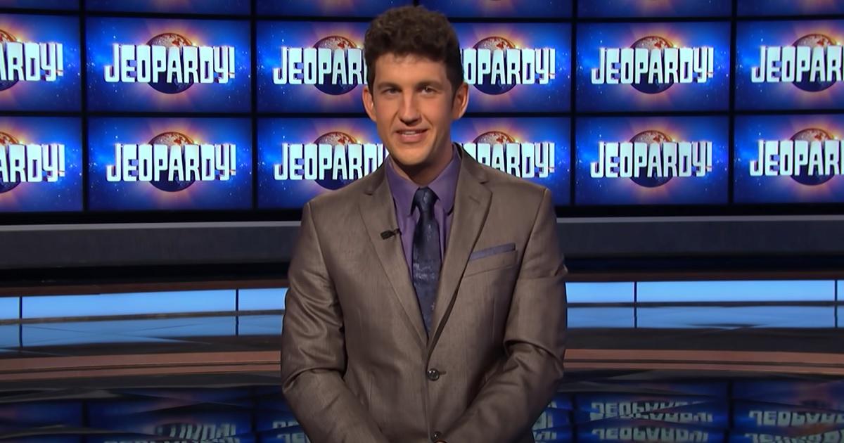 'Jeopardy!' Contestant Matt Amodio Makes History Becoming Third to Reach Scoring Milestone.jpg