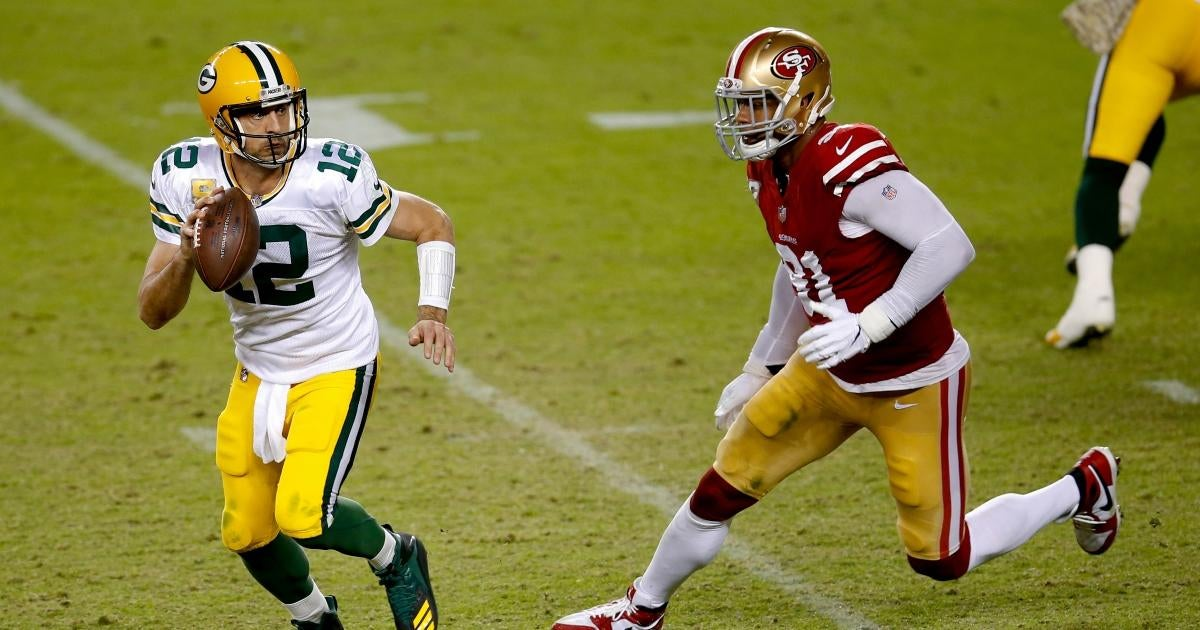 'Sunday Night Football': Time, Channel and How to Watch Packers vs. 49ers.jpg