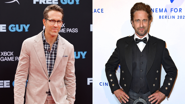 Gerard Butler Shades Ryan Reynolds, But the 'Deadpool' Star Has the Perfect Response