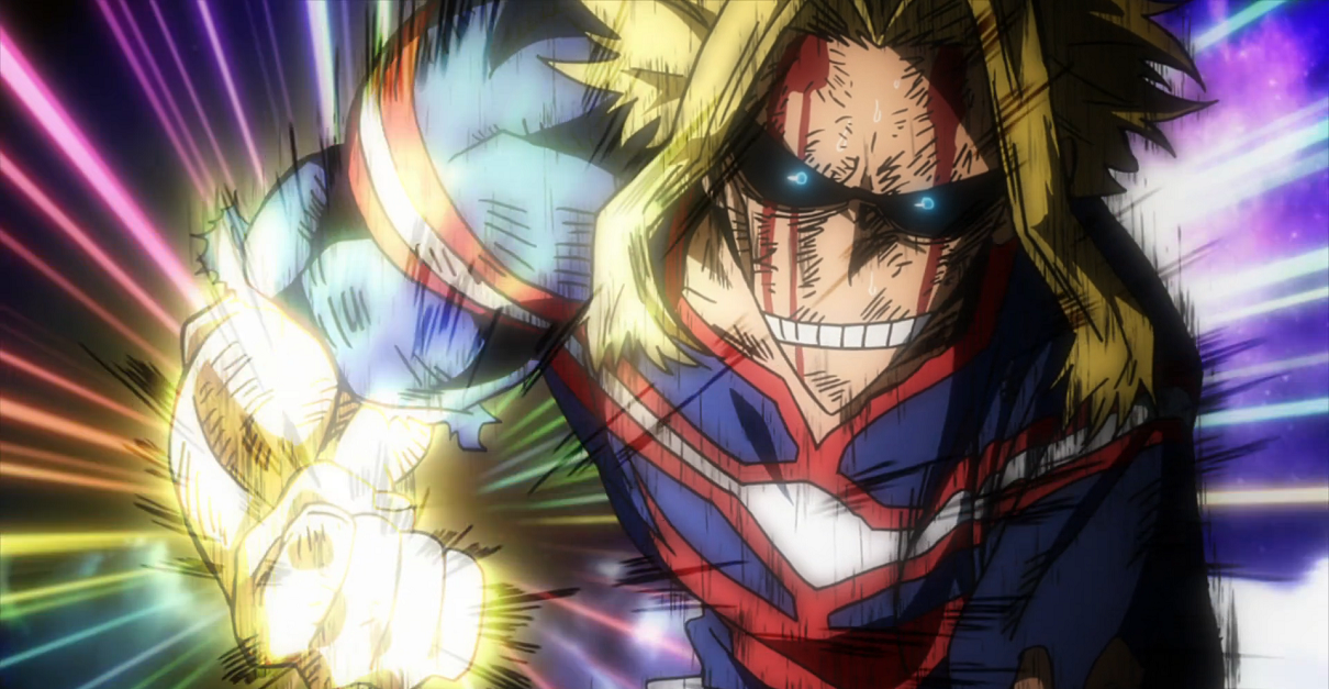 My Hero Academia Cosplay Explodes With All Might's One For All