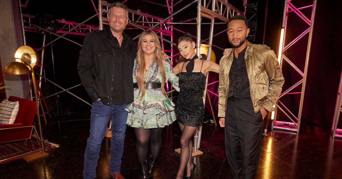 'The Voice': Blake Shelton Cries Betrayal After Ariana Grande Sides With Different Judge.jpg