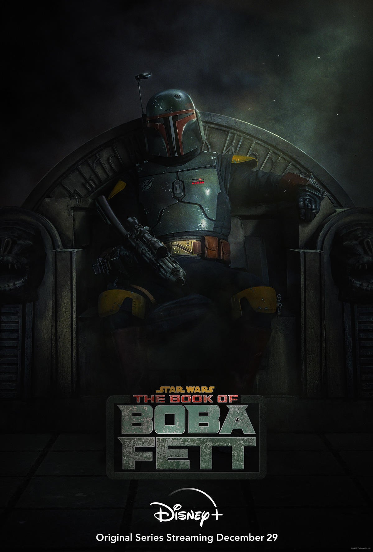 Star Wars: The Book of Boba Fett Premiere Date Revealed on New Poster