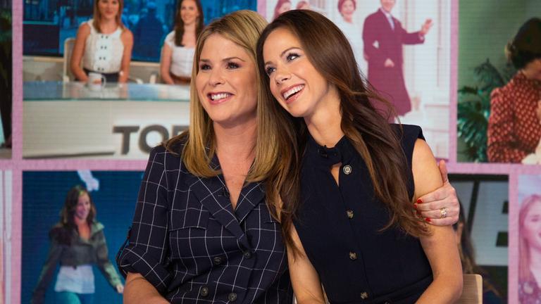 Jenna Bush Hager Shares First Photos of Twin Sister Barbara's Newborn Daughter