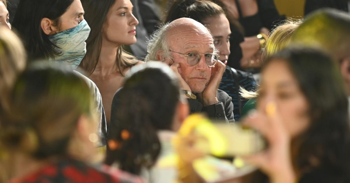 Larry David's Daughter Cazzie Wasn't Laughing Over Dad's New York Fashion Week Meme: 'This is so Sad'.jpg