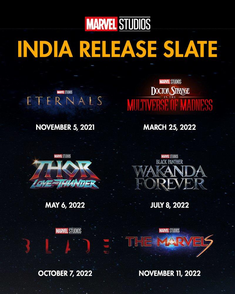 Blade Release Date May Have Accidentally Been Revealed in MCU Phase 4 Schedule Published by Marvel India