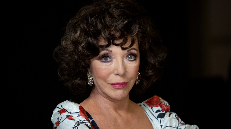 Joan Collins Goes off About 'Cancel Culture'