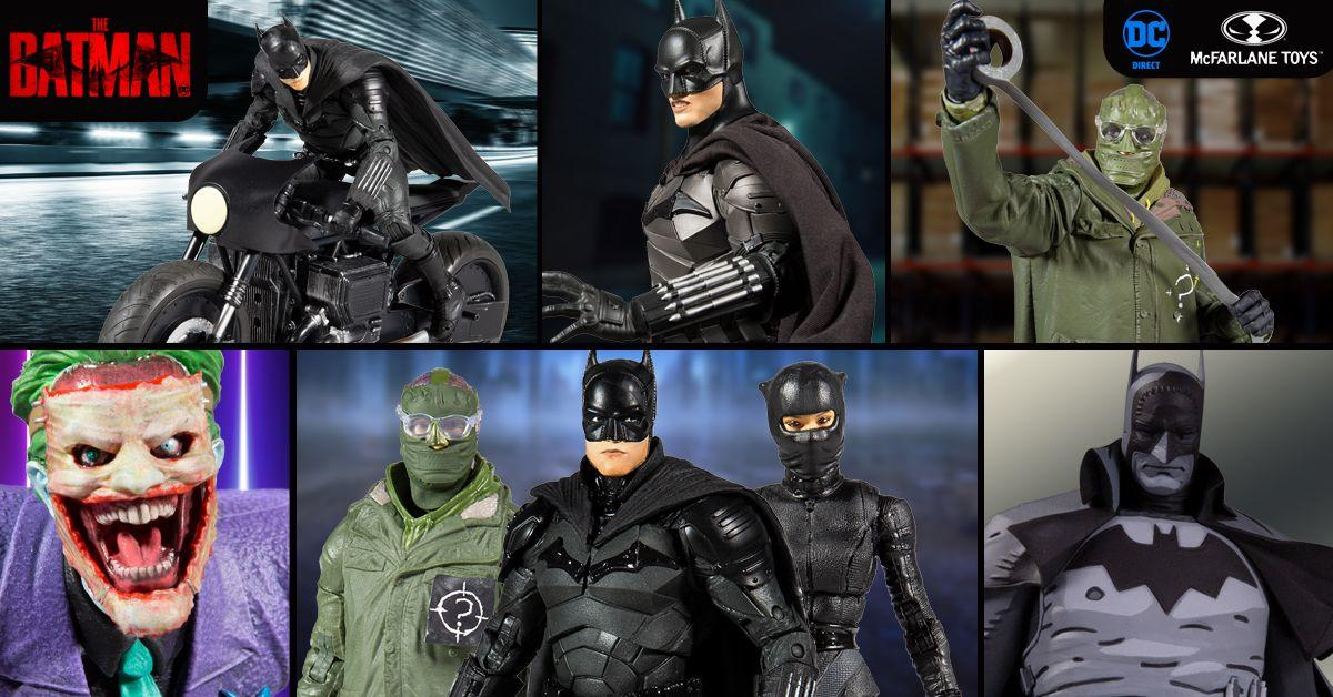 The Batman Action Figures and Statues Launch for DC FanDome 2021