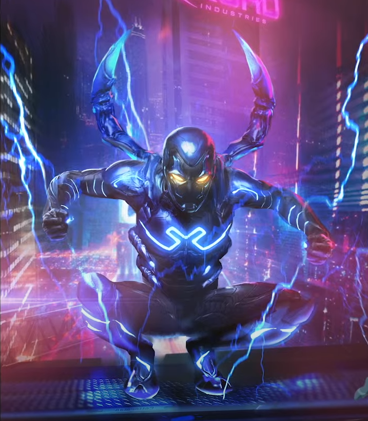 Blue Beetle: First Look at Costume For HBO Max Movie Revealed at DC FanDome