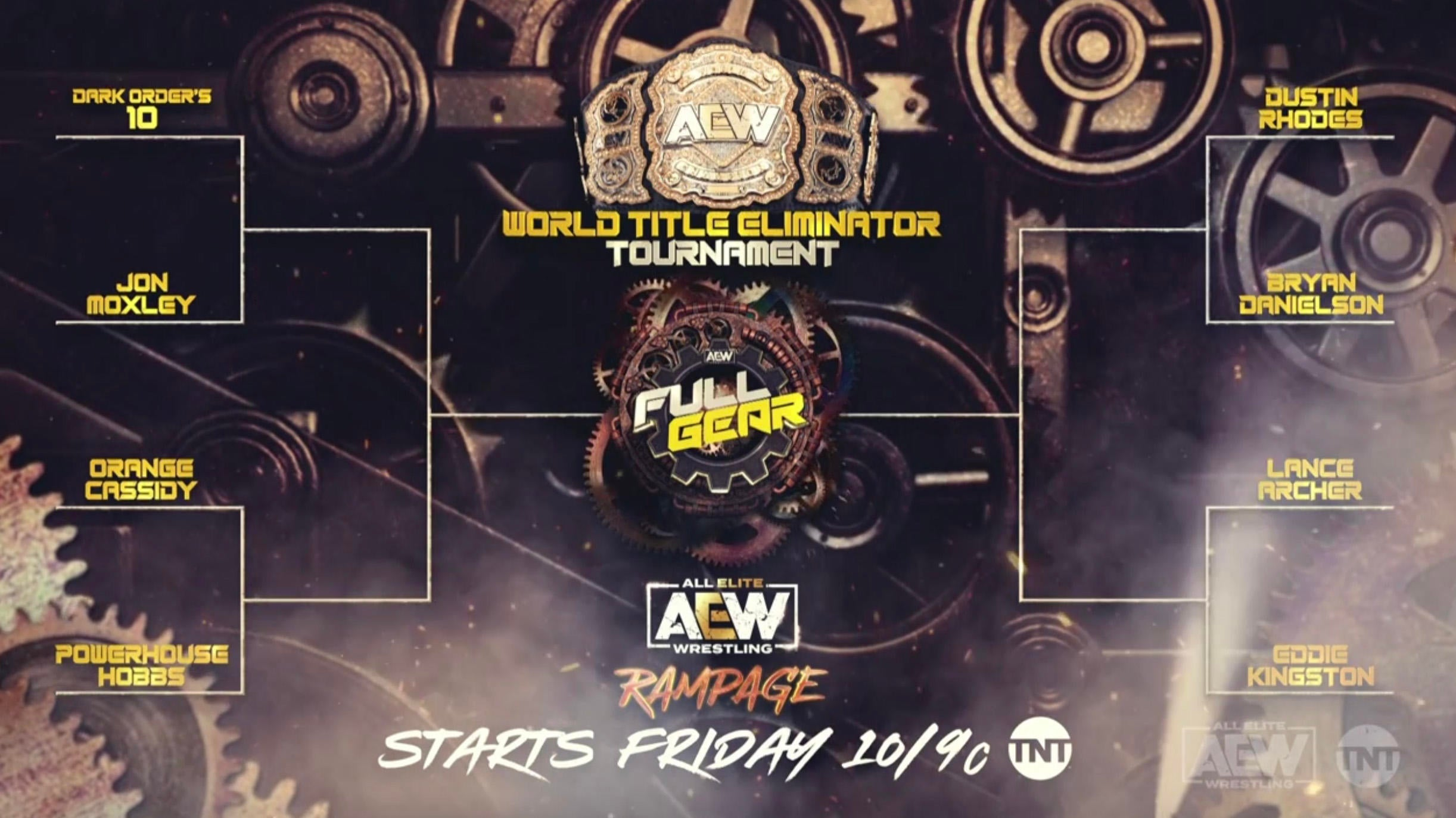 AEW Reveals World Title Eliminator Tournament Bracket
