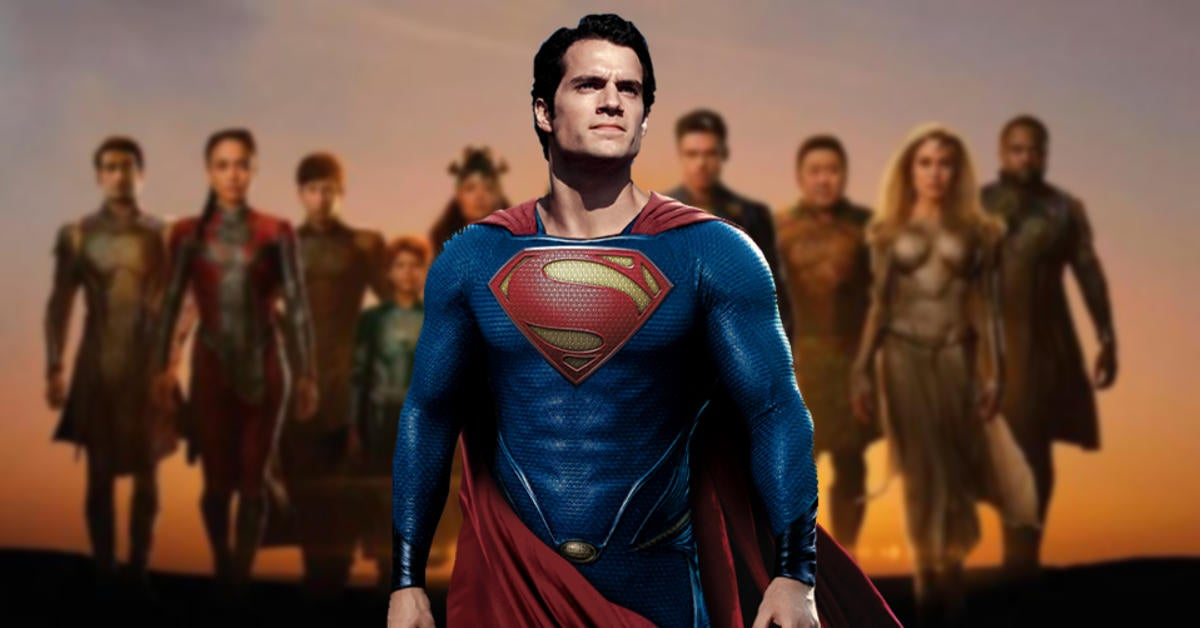 New Eternals Promo Confirms Superman Exists In The MCU