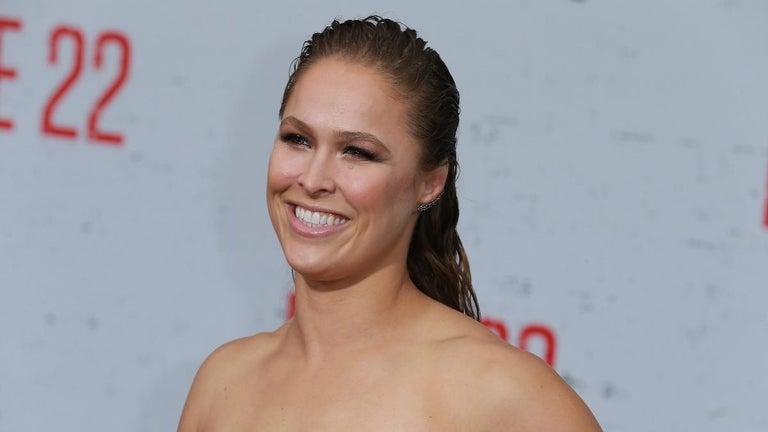 Ronda Rousey Shares 'Proud' Breastfeeding Photo With Baby Girl Po
