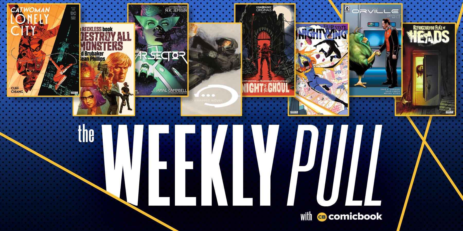 The Weekly Pull: Catwoman: Lonely City, Halo, The Orville, and More