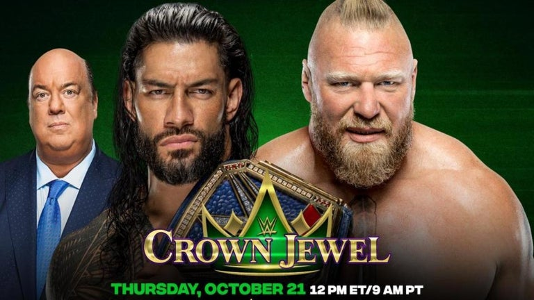 WWE Crown Jewel 2021: Time, Channel and How to Watch