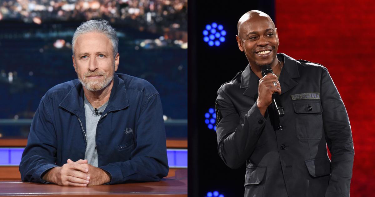 Jon Stewart Defends 'Never Hurtful' Dave Chappelle Over Netflix Controversy.jpg