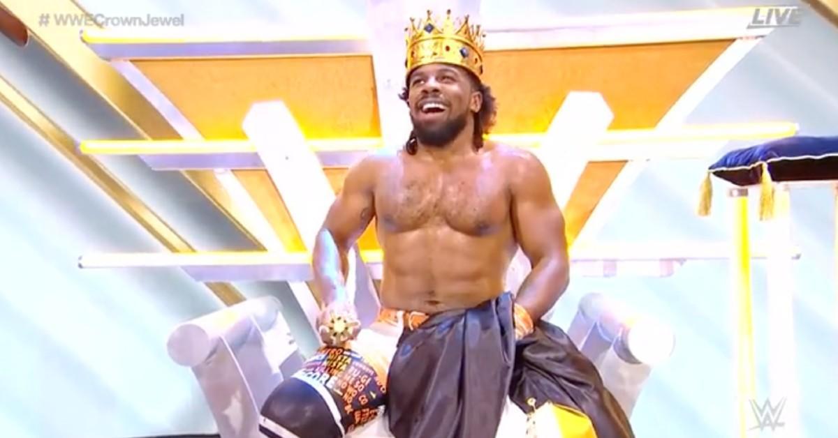wwe-crown-jewel-xavier-woods-king-of-the-ring
