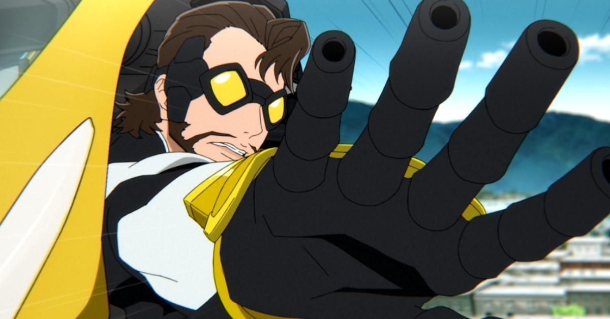 super-crooks-netflix-mark-millar-anime-johnny-bolt