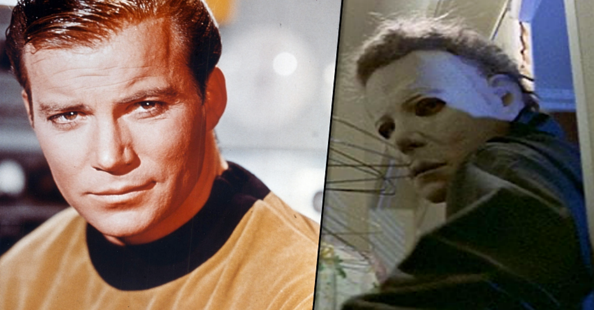 How William Shatner Reacted to His Face as Halloween's Michael Myers Mask