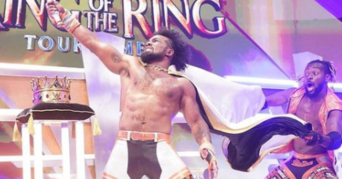 wwe-xavier-woods-king-of-the-ring-win-promo