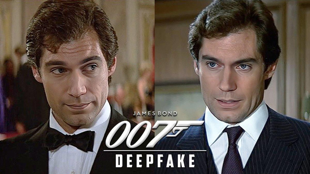 James Bond Fan Deepfakes Henry Cavill Into 007 Role