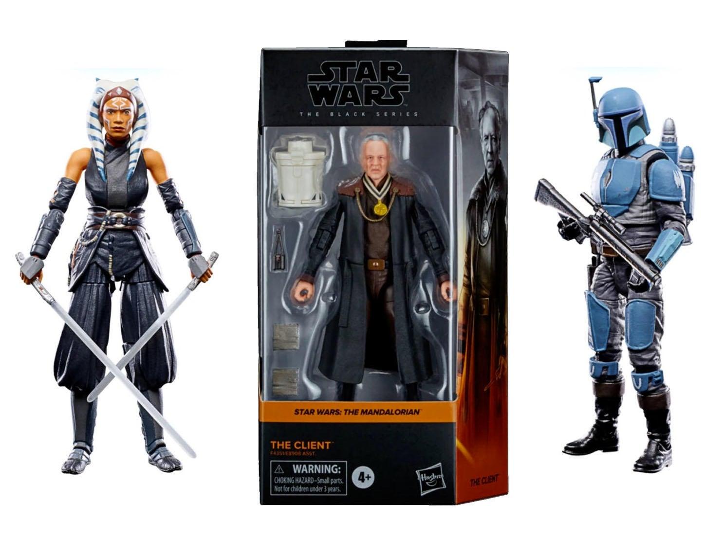 Star Wars Vintage Collection Ahsoka Tano and Death Watch Mandalorian Pre-Orders Launch Today