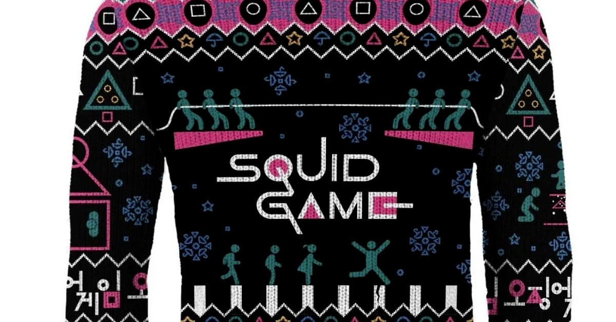 squid-game-ugly-christmas-sweater-top