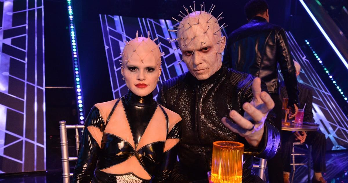 dwts-the-miz-witney-carson-pinhead-costume-getty-images-abc