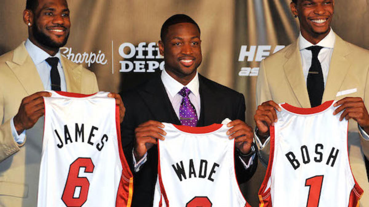 Dwyane Wade: LeBron and I considered joining Bulls until Heat ...