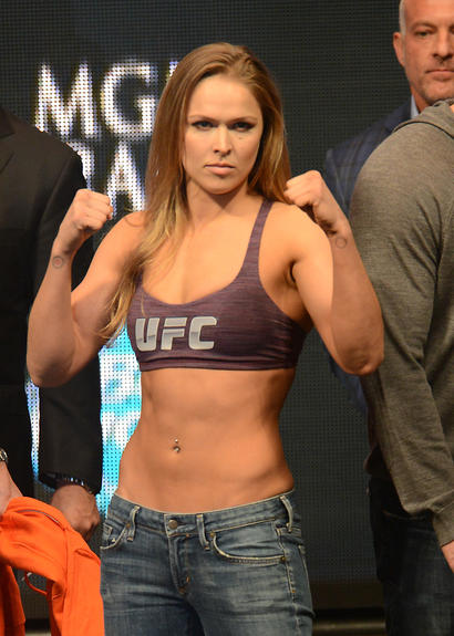 Ronda Rousey's diet and workout secrets - CBSSports.com