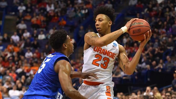 Syracuse freshman Malachi Richardson will remain in the NBA Draft