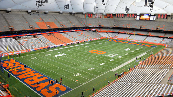 Syracuse To Spend 105m For New Carrier Dome Roof 100m More For