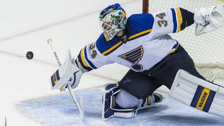 Blues will stick with Jake Allen as starting goalie for ...