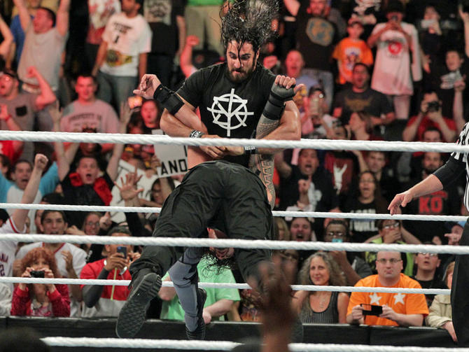 WWE Extreme Rules 2016 results: Seth Rollins returns after ...