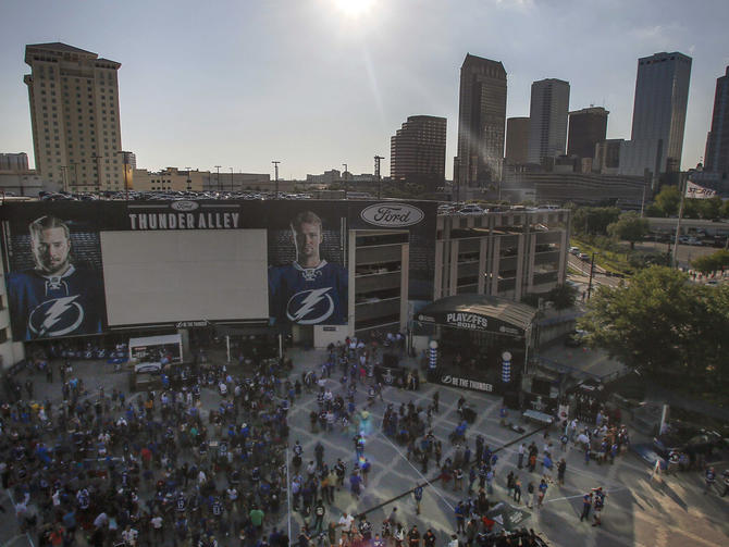 Lightning forced to scrap Game 7 watch party due to NHL policy - CBSSports.com