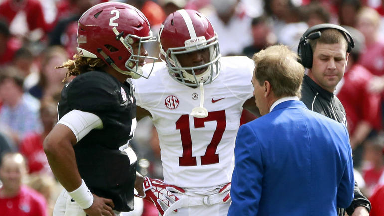 college football scores alabama cbs sports scores nfl