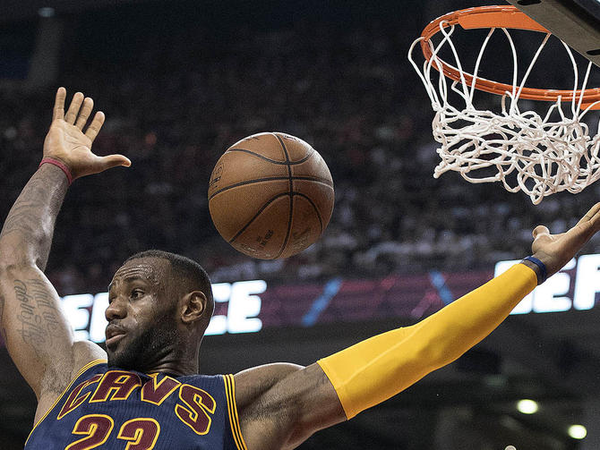 Cavaliers advance to NBA Finals with win over Raptors ...