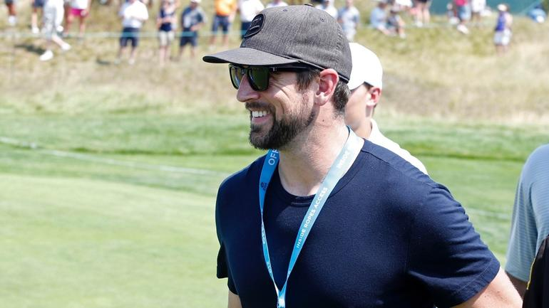 Aaron Rodgers was impressive during a round of golf with ...