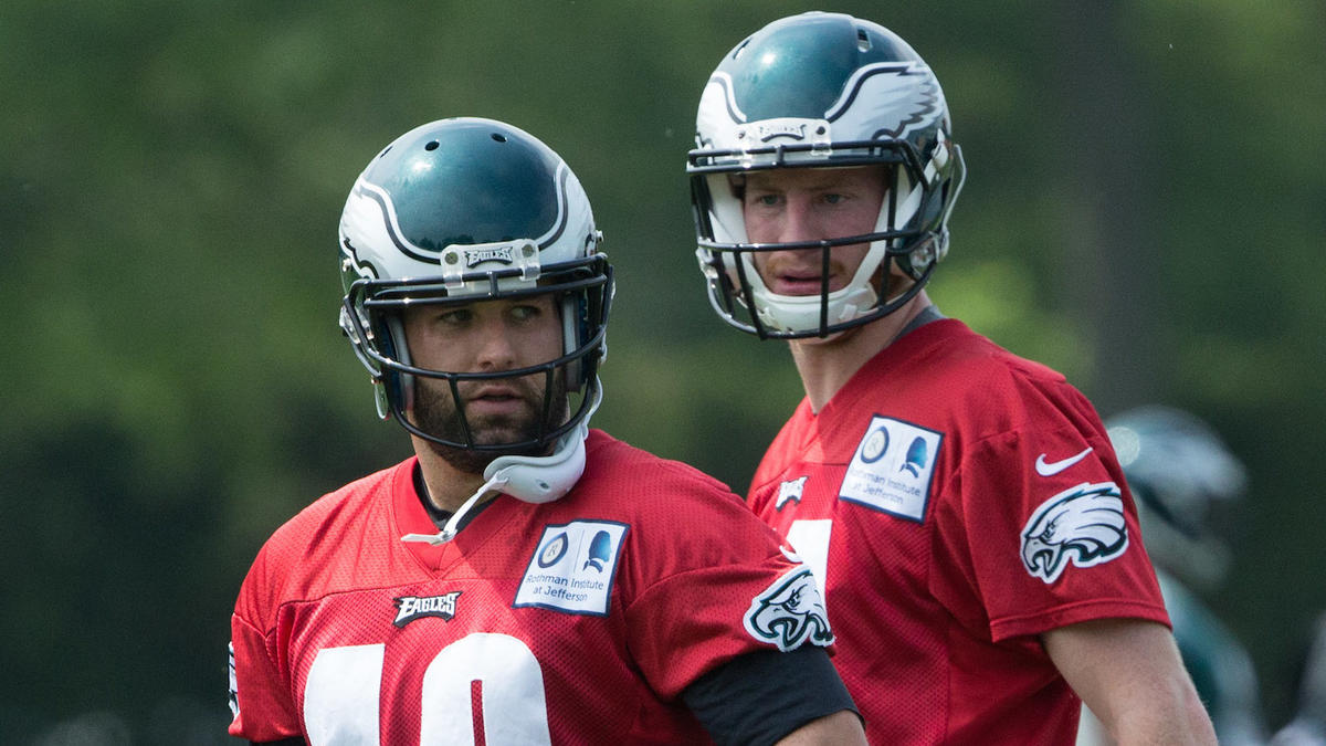 3acb71748f7 Eagles release high-priced backup QB Chase Daniel after just one year -  CBSSports.com