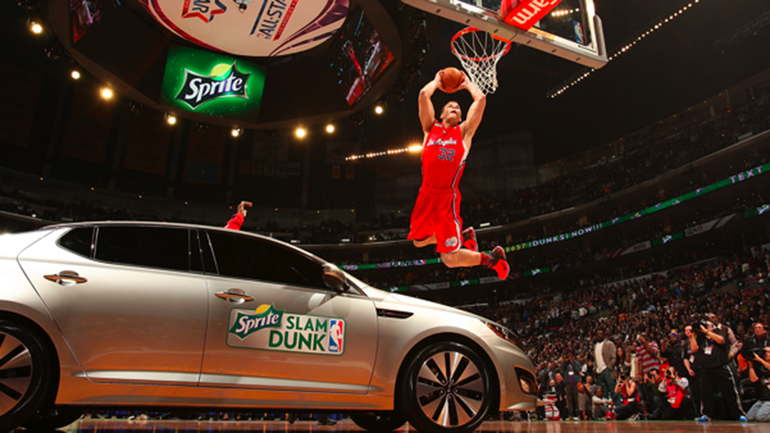 Blake Griffin S Dunk Contest Car Was Originally A Much Cooler Idea Cbssports